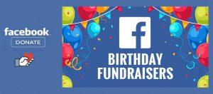 facebook fundraiser button