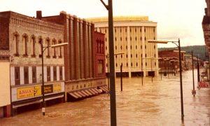 flooded elmira